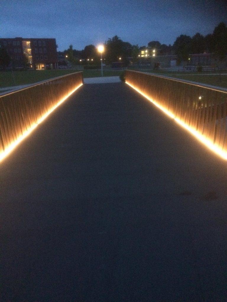 Kollum: Verkeersbrug Meckema en 3 fietsbruggen