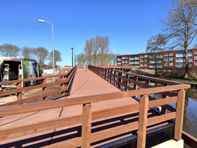 Aanleg fiets-, en voetgangersbrug Bolsward