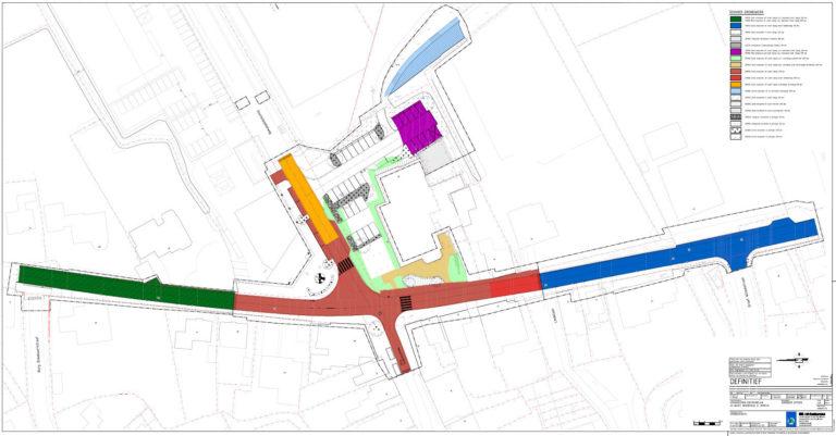 Herinrichting Centrumplan te Hoogwoud