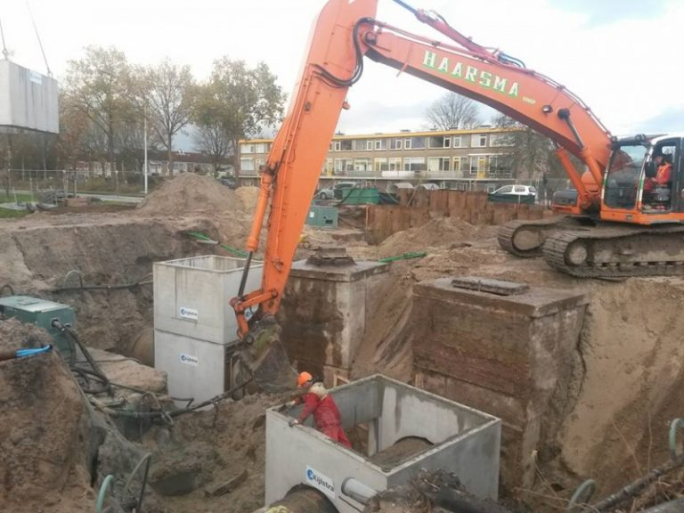 Rioolreconstructie Noorderhogeweg Drachten