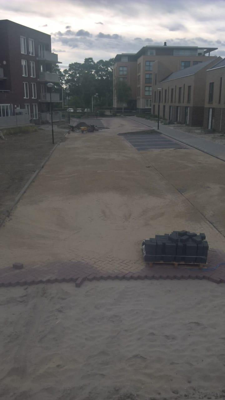 Woonrijp maken 't Voert fase 3 te Grootebroek in de Gemeente Stede Broec 2018-I03