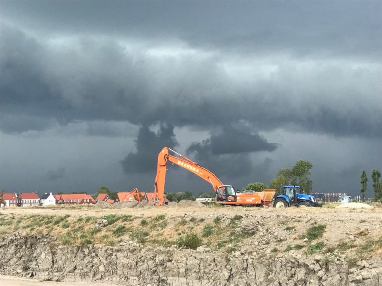 """""""De Klamp: bouwrijp maken fase 1"""" te Leeuwarden 2018I21"""