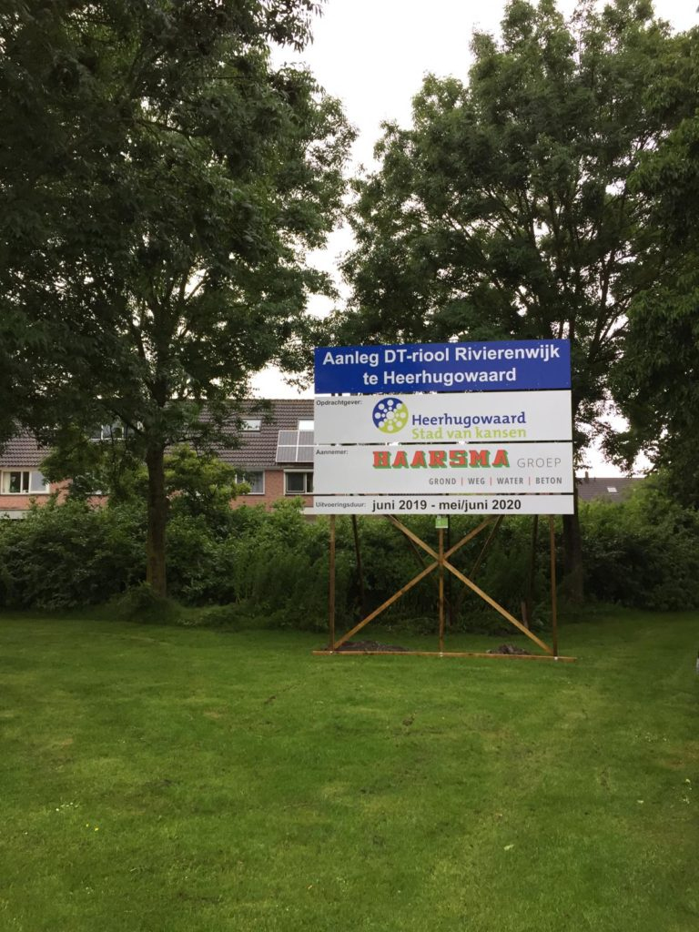 Aanleg DT-riool Rivierenwijk in Heerhugowaard