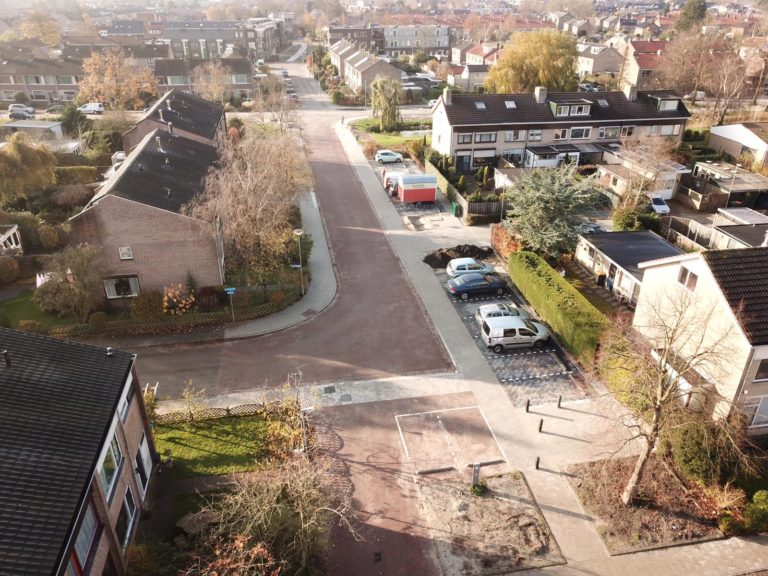 Rioolreconstructie Hulststraat te Noord Scharwoude
